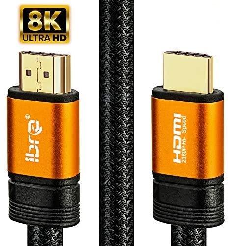 cable hdmi ibra orange 2.1