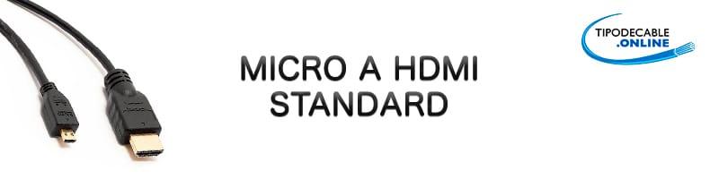 Micro a hdmi standard